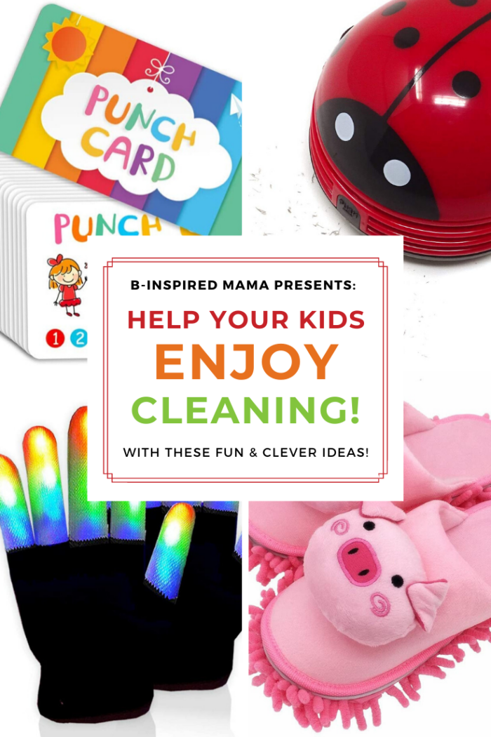 Make Cleaning FUN for kids with these clever ideas!