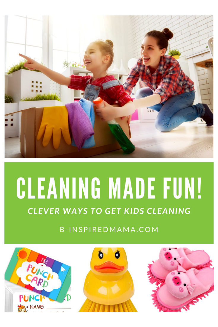 Clever Kids Cleaning Games and Ideas to Make Cleaning FUN!