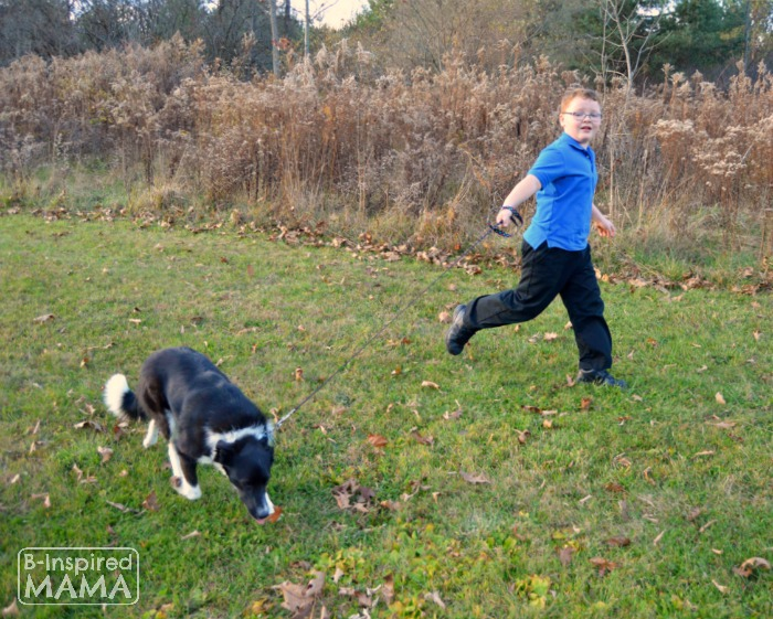 The Awesome Reasons to Have a Dog for Kids - Sawyer and Olive - at B-Inspired Mama