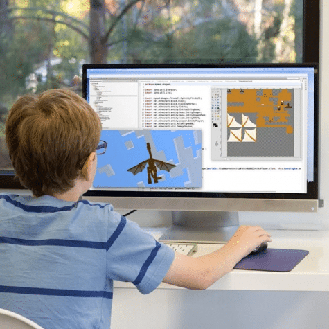 An Easy At-Home Way to Teach Kids to Code with Minecraft