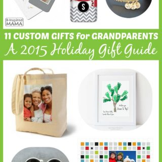 11 Personalized Gifts for Grandparents - A 2015 Holiday Gift Guide at B-Inspired Mama