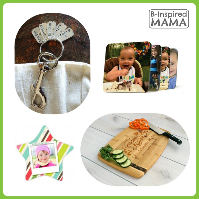 11 Personalized Gifts for Grandparents - A 2015 Holiday Gift Guide from B-Inspired Mama