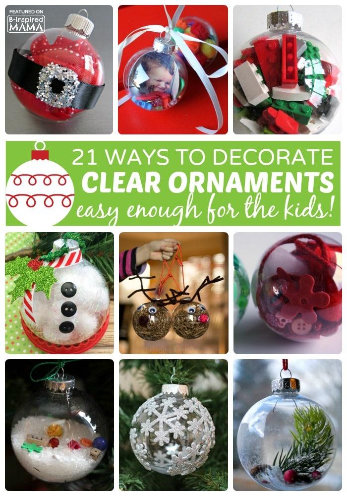 Family Christmas Ornaments