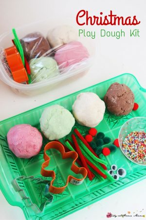 Christmas Playdough Kit