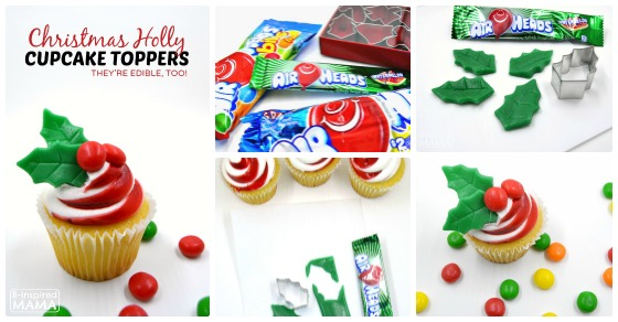Mixed Mama Paralyzed Heals Coloring Page: Make Candy Holly To Jazz Up Christmas Cupcakes