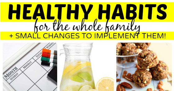 implementing health habits Healthy eating habits start at home  childhood obesity has become a major health  everyone develops good eating habits together and the quality time with the.