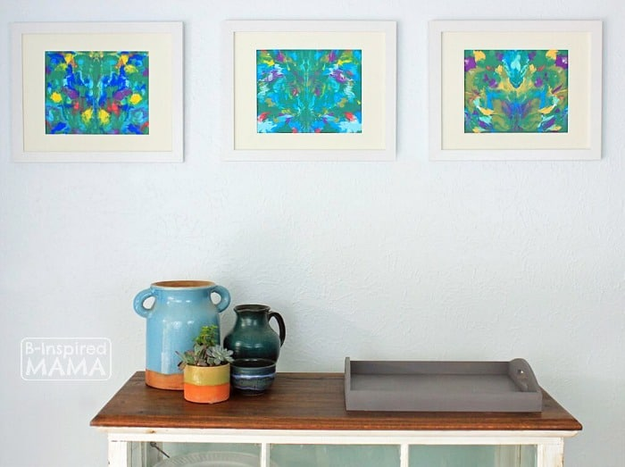 Monet Inspired Art Project + 2 More Art Projects for Kids Inspired by Family Artists - at B-Inspired Mama