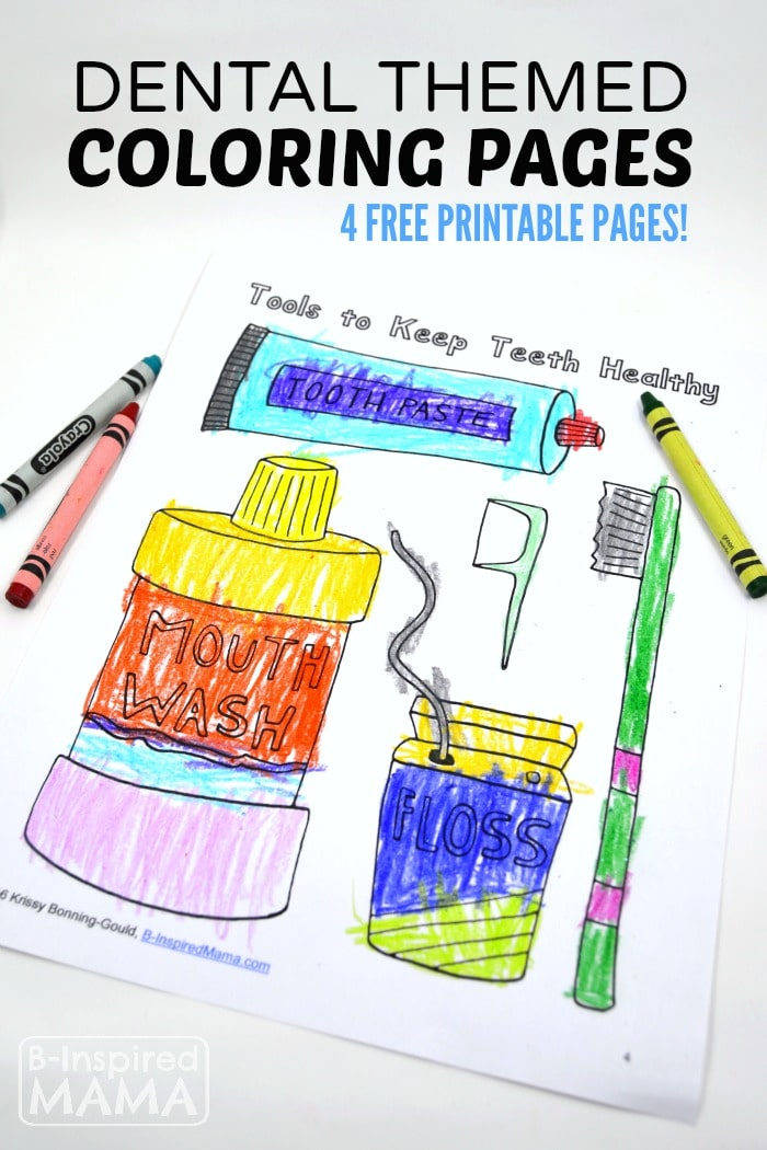 dental coloring pages printable - free dental coloring pages for kids