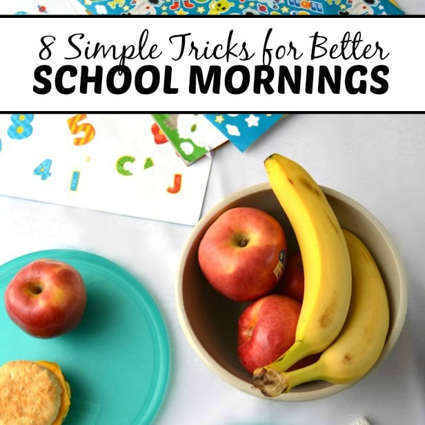 8 Simple School Morning Routine Tricks from B-Inspired Mama