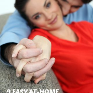 9 Easy At Home Date Night Ideas - For After the Kids are in Bed - at B-Inspired Mama
