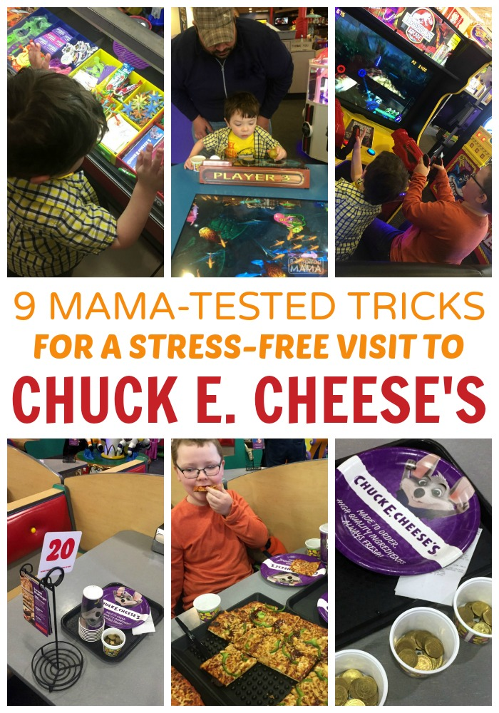 9 Mama-Tested Tricks for a Stress-Free Chuck E Cheese's Visit