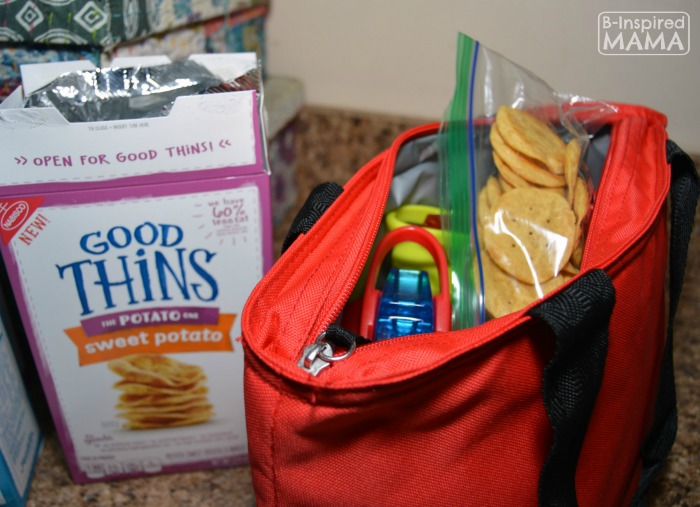 An After School Snack Hack - You'll Wish You'd Known About Sooner - Featuring the New GOOD THiNS - at B-Inspired Mama