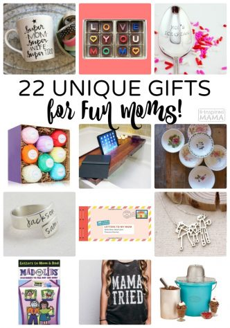 22 Unique Gifts - for FUN Moms - a 2016 Mother's Day Gift Guide from B-Inspired Mama