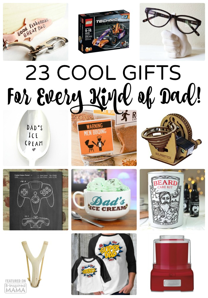 23 Super Cool Gifts for Every Kind of Dad - a 2016 Father's Day Gift Guide from B-Inspired Mama