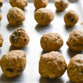 Chocolate Peanut Butter No-Bake Energy Bites for Kids