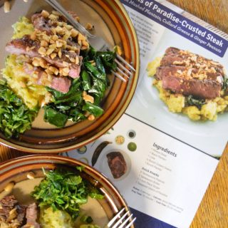 How Busy Moms can Cook Fancy Meals - A Blue Apron Review - at B-Inspired Mama