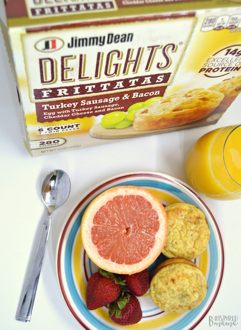 Be a Better Mom with This Simple 3 Step Morning Routine - Step 1 - A Wholesome Breakfast - at B-Inspired Mama