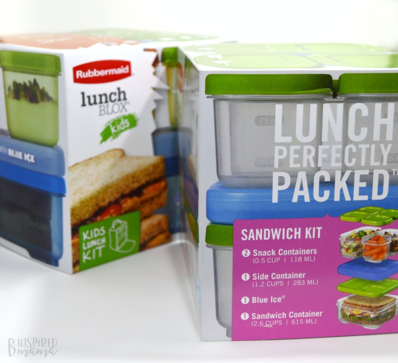 Some FREE Printables to make sure your Kid-Packed Lunch get done on time and is a healthy balanced meal, too - at B-Inspired Mama