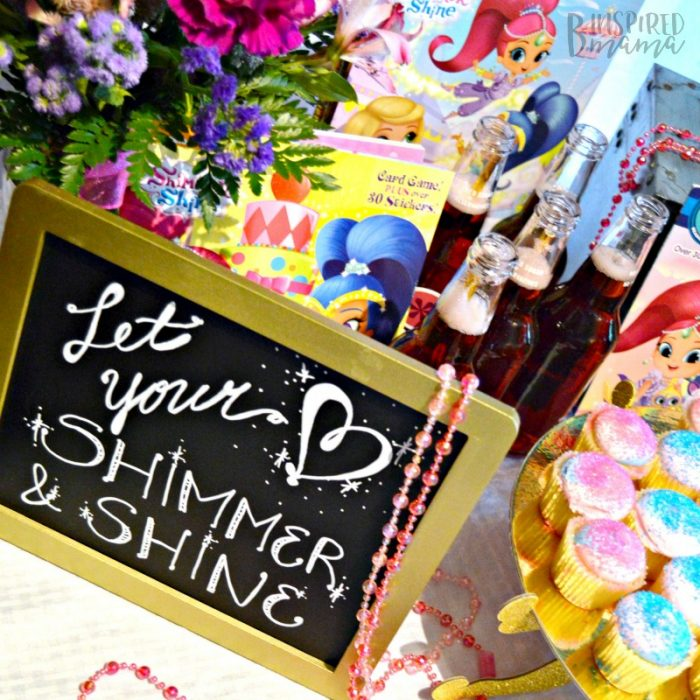 4 Simple Steps to a Girly Party your Daughter will Adore - Let your Heart Shimmer and Shine - at B-Inspired Mama