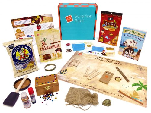 Surprise Ride Subscription Box for Kids + 9 MORE of the Best Subscription Boxes for Curious Kids
