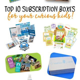 The 10 Best Subscription Boxes for Curious Kids - at B-Inspired Mama