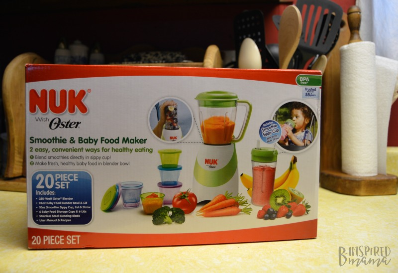 Vanilla Peanut Butter Smoothie Recipe - Made easy with the NUK Smoothie and Baby Food Maker