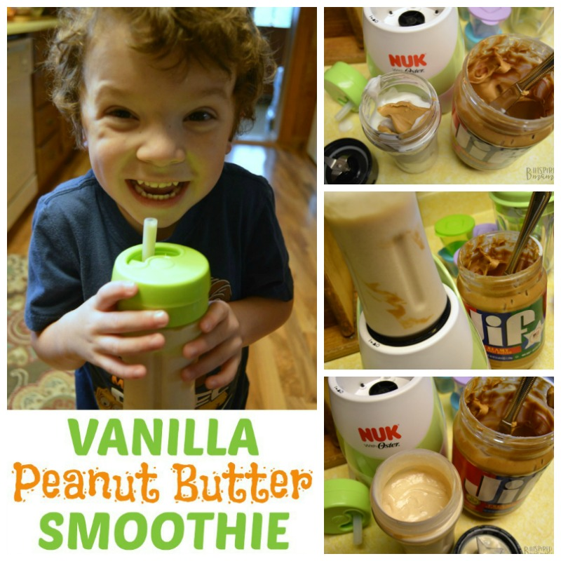 Vanilla Peanut Butter Smoothie Recipe - Perfect for Kids