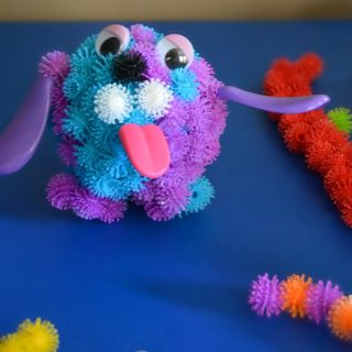 Encouraging creative play with our new sensory favorite - at B-Inspired Mama