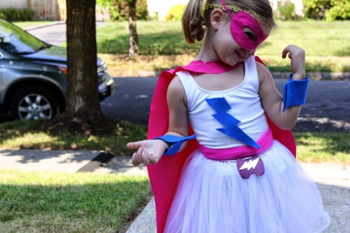 DIY Supergirl Costume