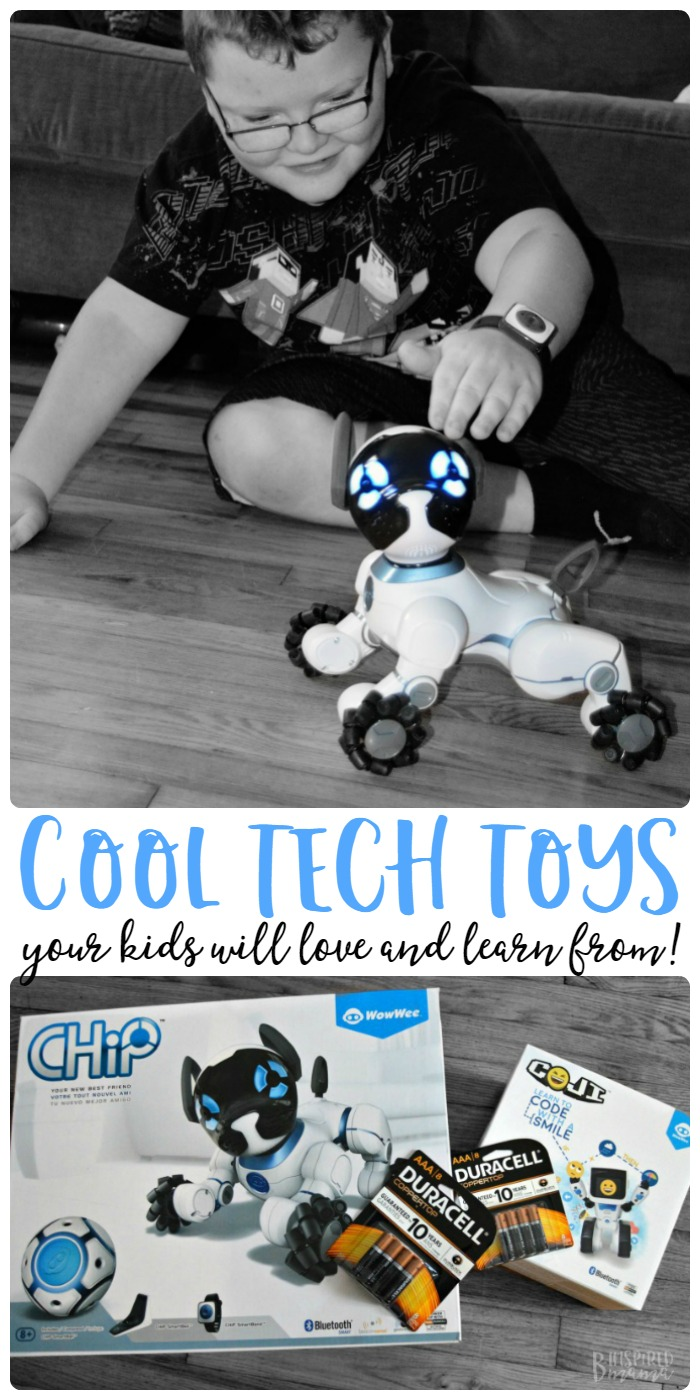 2 Super Cool Toys your High-Tech Kids will Love and Learn From - at B-Inspired Mama