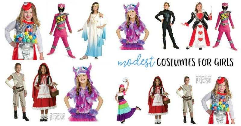 sc 1 st  B-Inspired Mama & Cute but Modest Girl Halloween Costumes u2022 B-Inspired Mama