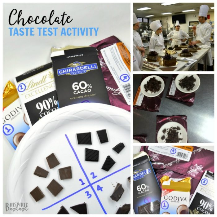 Exploring the Sense of Taste with Chocolate Taste Testing - Inspired by the Penn College Cultinary Arts Program - B-Inspired Mama