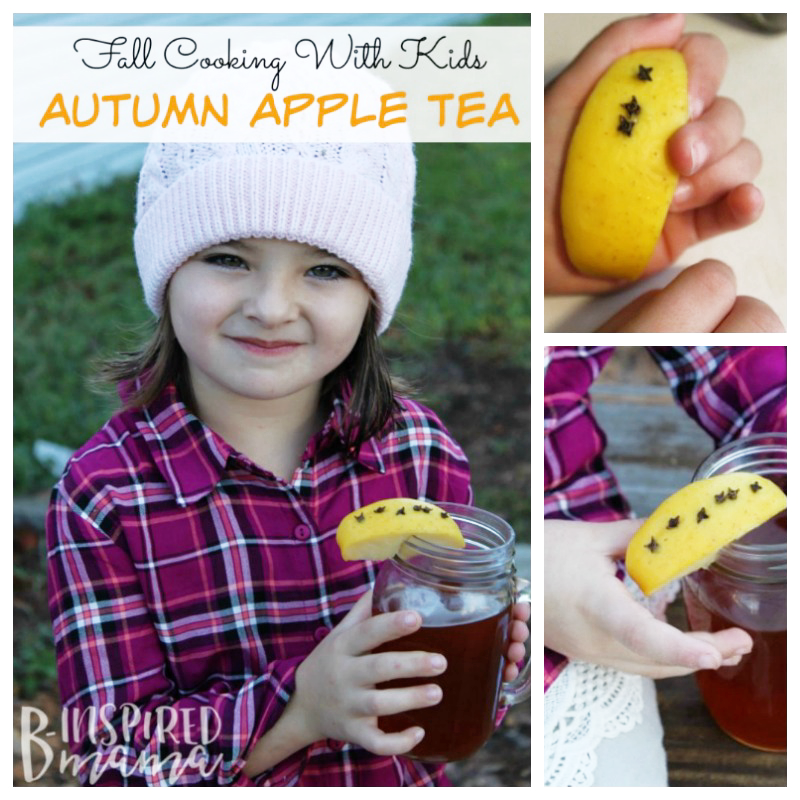 Fall Cooking with Kids - How to Make Apple Tea - Perfect for Autumn