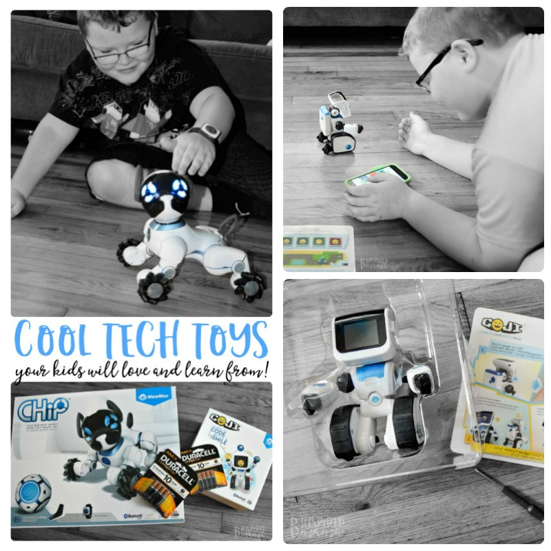 Super Cool Toys your High-Tech Kids will Love and Learn From - at B-Inspired Mama