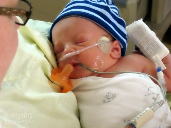 One of my sweet NICU Babies - B-Inspired Mama