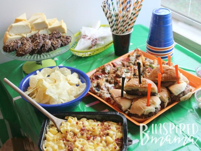 Host a Touchdown Party with these Easy Football Party Food Ideas