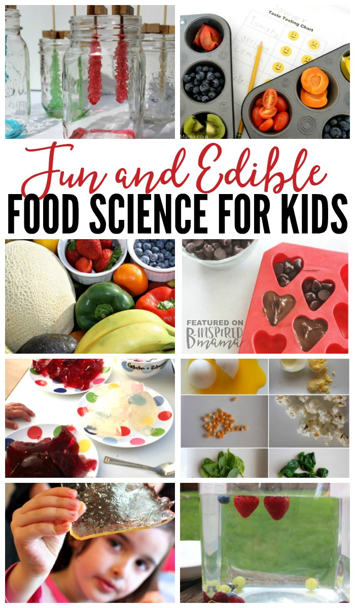 10 Fun and Edible Food Science Experiments You're Kids