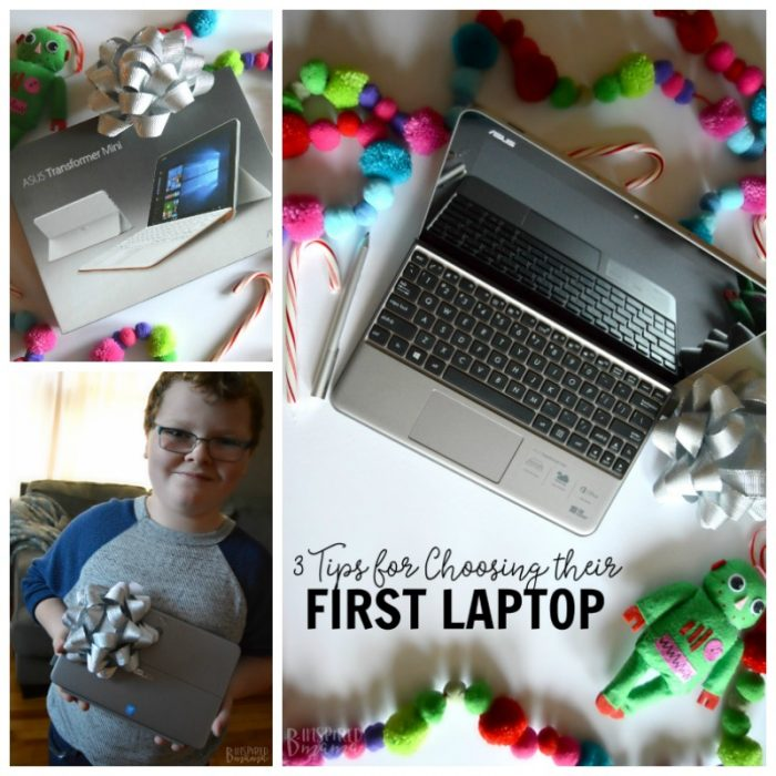 3 Tips for Choosing your Child's First Laptop - The perfect Christmas gift for kids - B-Inspired Mama