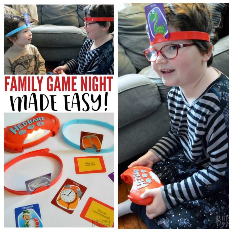 A Fun Family Game Night - Made Easy - Perfect for quality family time indoors on a cold Winter night - at B-Inspired Mama