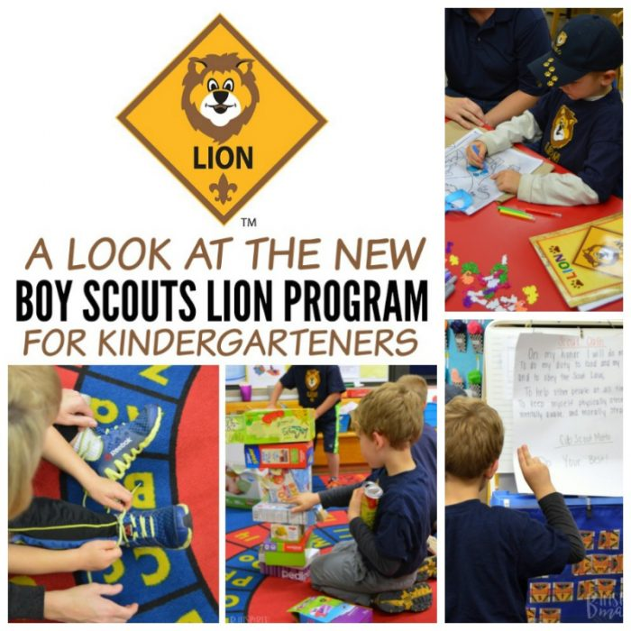 A first look at the new Boy Scouts Lion Program - for Kindergarten Boys and their Parents and Families