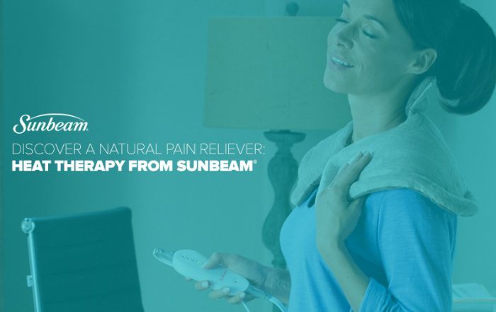 6 Strategies for Busy Moms with Low Back Pain + Info about Sunbeam Heating Products