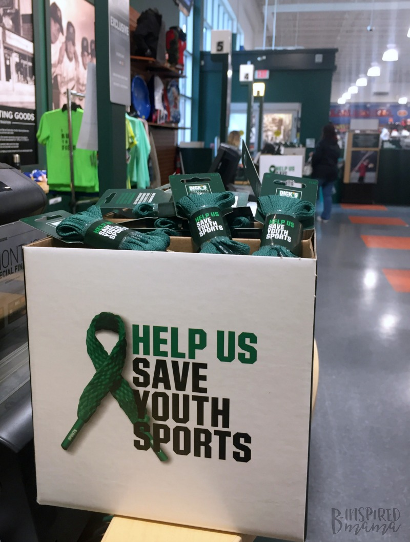 DICK'S Green Laces - an easy way to help youth in need