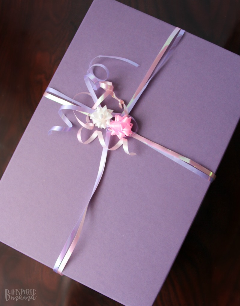 A Birthday in a Box - ready to send to that special child you can't see on her Birthday
