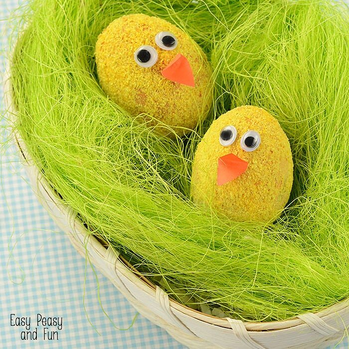 DIY Chic Easter Eggs