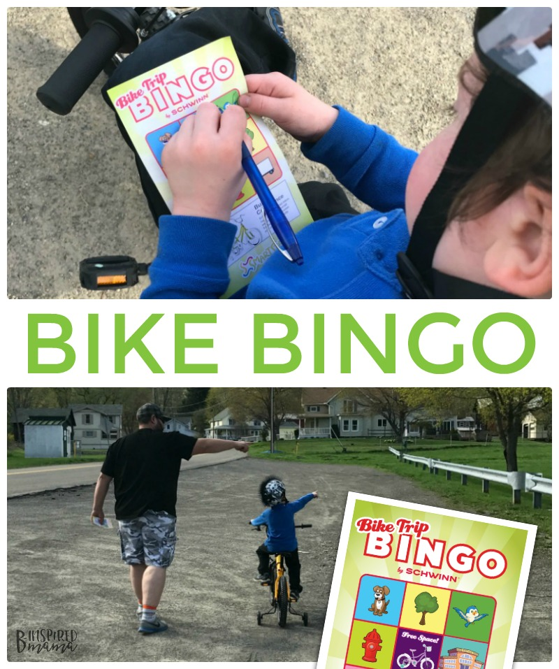 Kids Bike Bingo - A Game to make learning to ride a bike more fun!