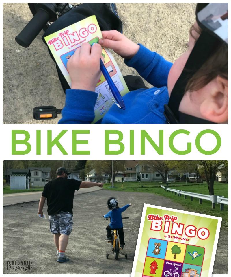 Kids Bike Bingo - A Game to make learning to ride a bike more fun!