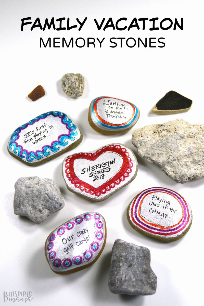 Preserve Family Vacation Memories with Painted Stones