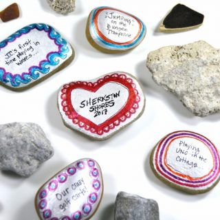 DIY Painted Stones to Preserve Your Family Vacation Memories