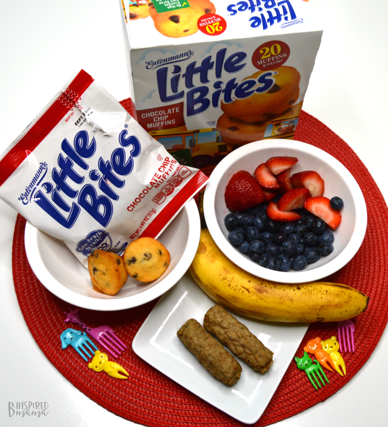 Bus Themed Before School Breakfast - Ingredients