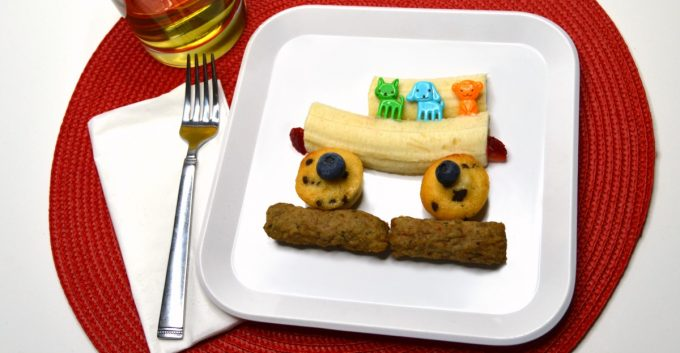 Seriously Cute and Easy Bus Themed Before School Breakfast for Kids